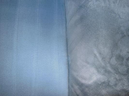 Gereinigtes Sofa, blau, Vorher-Nachhervergleich